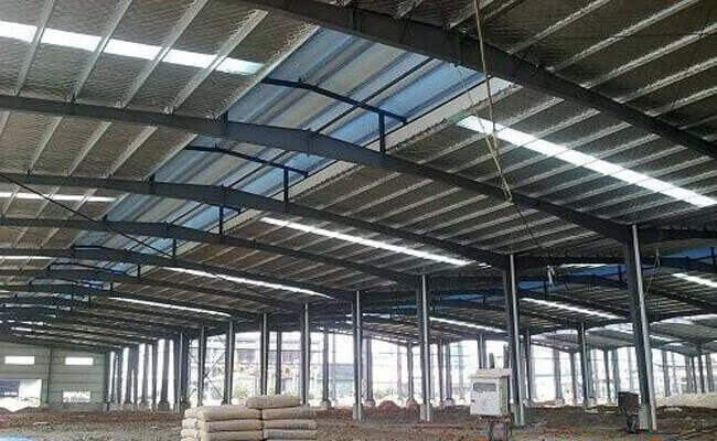 Insulation steel building